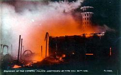 Photo of The Burning of Crystal Palace