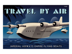 Poster of a flying boat
