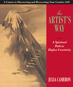 Image of the front cover of the Book The Artists Way by Julia Cameron