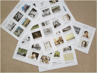 Photo of Clare Flynns Storyboarding