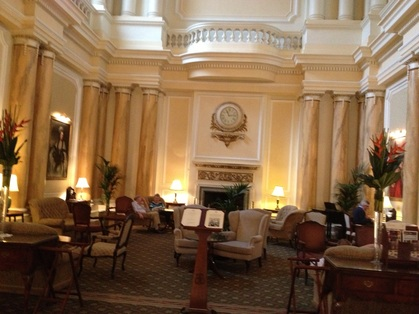 Photo of Interior of Grand Hotel Eastbourne