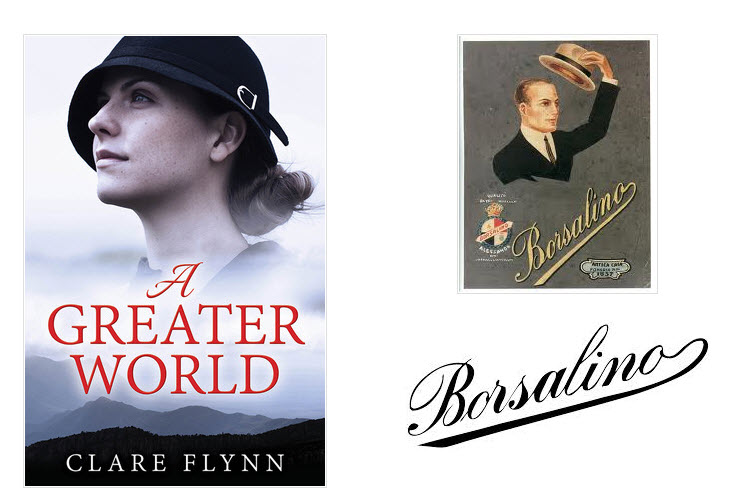 Composite Image of The front cover of the novel A Greater World by Clare Flynn