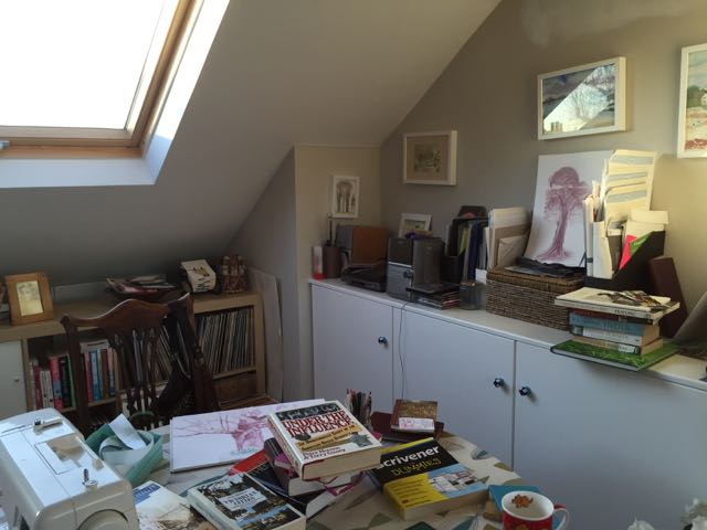 A ROOM OF ONE'S OWN – WHERE WRITERS WRITE