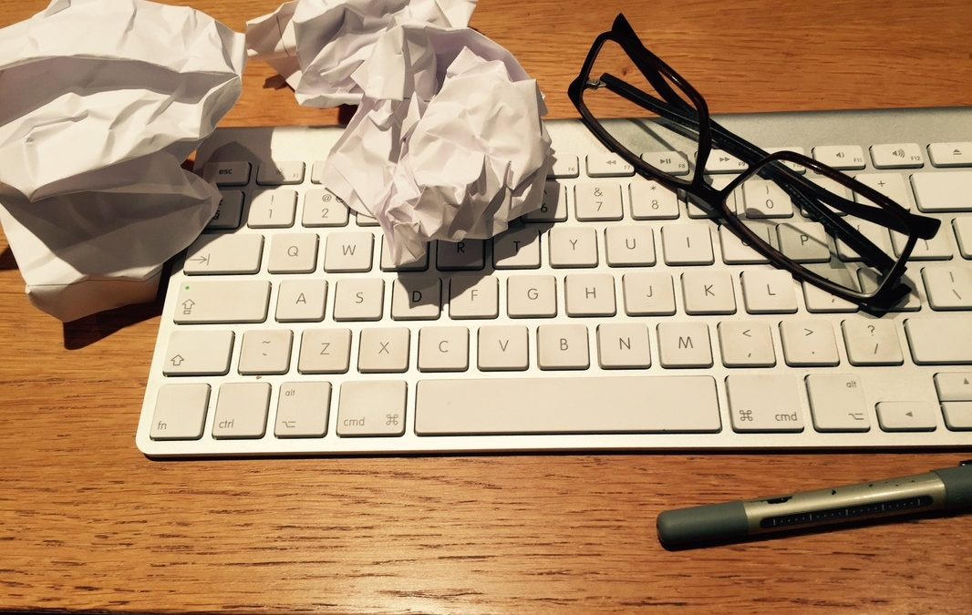 DEALING WITH WRITER'S BLOCK – OR NOT?