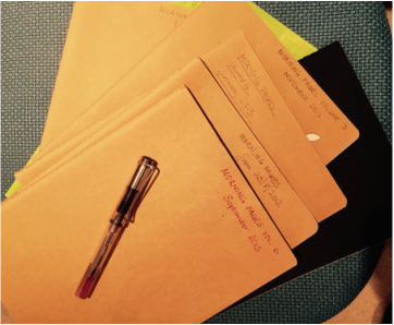 Image of files and documents