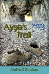 Image of the front cover of the novel Ayses Trail