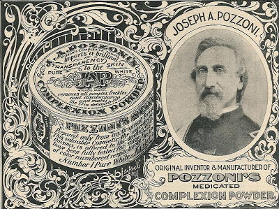 Image of Victorian Poster for Pozzoni Medicated Complexion Poweder