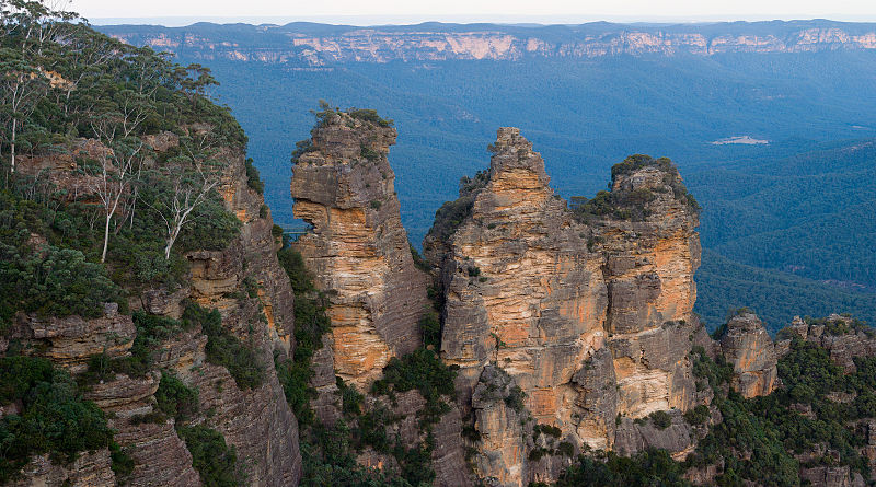 B IS FOR THE BLUE MOUNTAINS