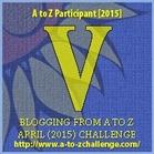 V blog icon