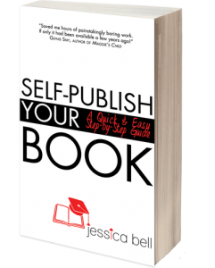 Image of front cover of the book entitled Publish Your Book by Jessica Bell