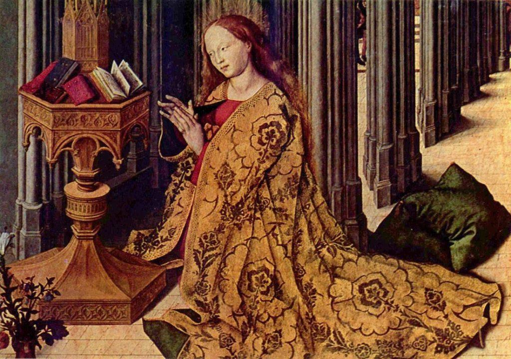 Image of The Annunciation Barthélemy d'Eyck