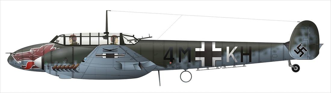 Image of Messerschmidt Bf110