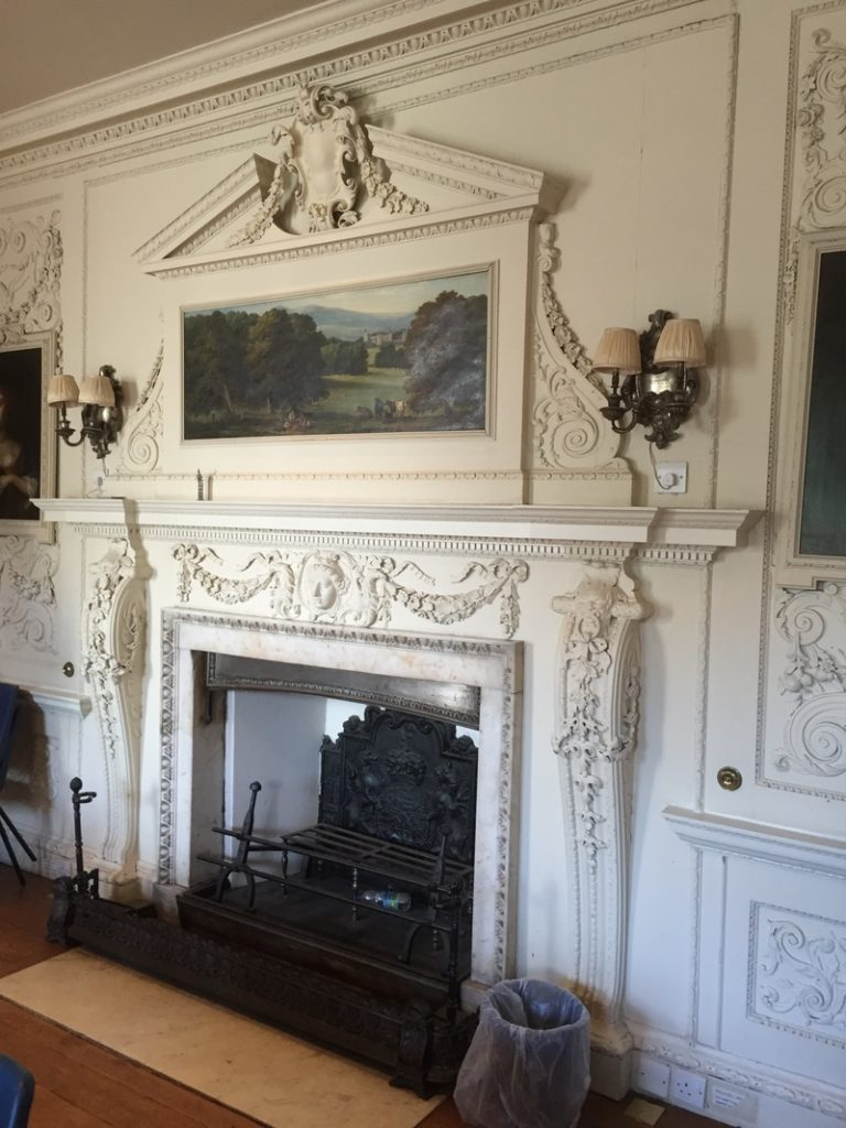 Former Dining Room at Compton Place