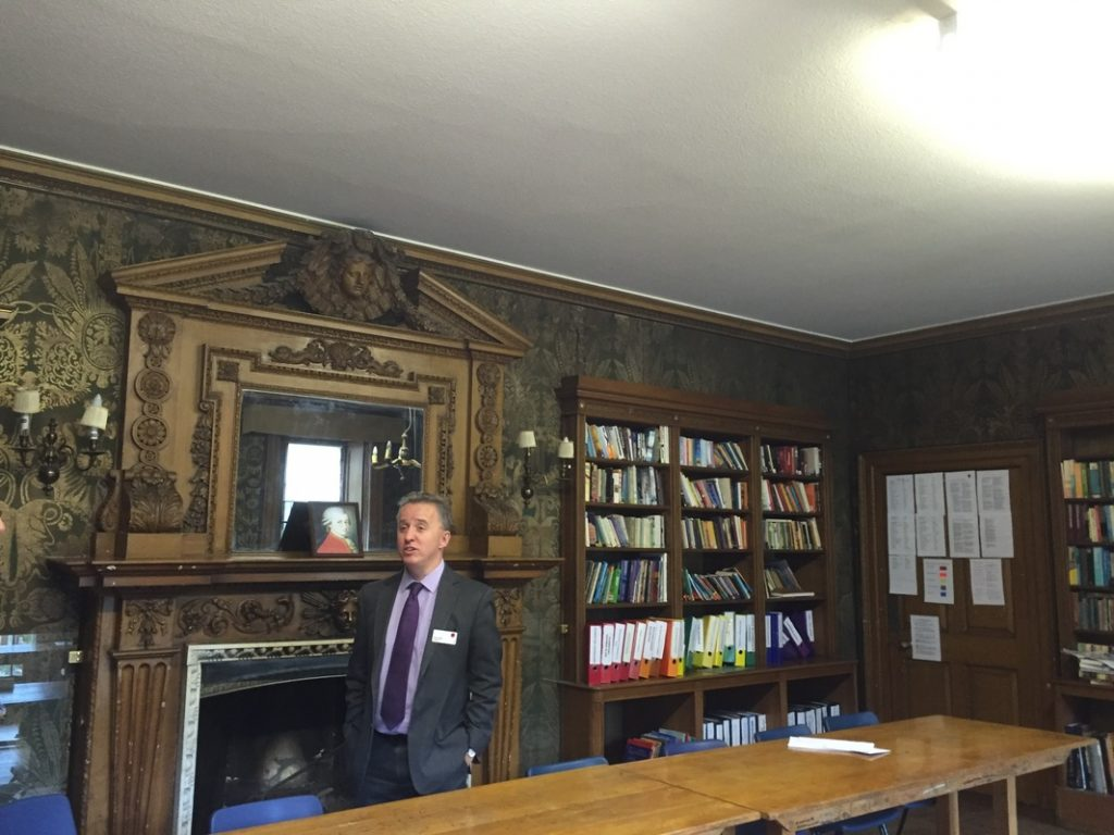 Library at Compton Place