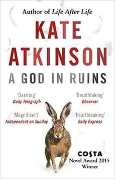 Image of the front cover of the novel 'A God In Ruins' by Kate Atkinson