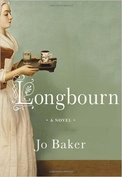 Image of The Front Cover of the Novel Longbourn by Jo Baker