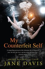 Image of the front cover of the novel My Counterfeit Self by Jane Davis