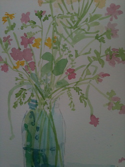 Picture of Flowers in a Vase