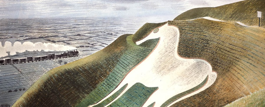 Bombs, Ravilious, Eastbourne and The Chalky Sea